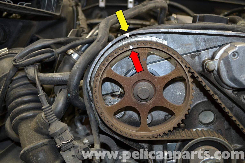 Audi A4 B6 Timing Belt Tensioner Replacement 1 8t