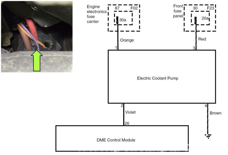 Bmw E60 5 Series Water Pump Testing