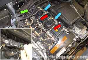 BMW E60 5Series N54 Engine Oxygen Sensor Replacement