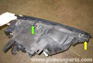 BMW X5 Headlight Replacement (E53 2000  2006) | Pelican Parts DIY Maintenance Article