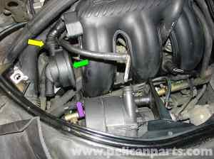 Porsche Boxster Air  Oil Separator Replacement  986