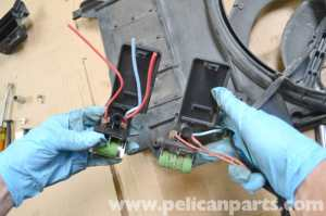 Mini R53 Cooling Fan Resistor Replacement | R53 Cooper