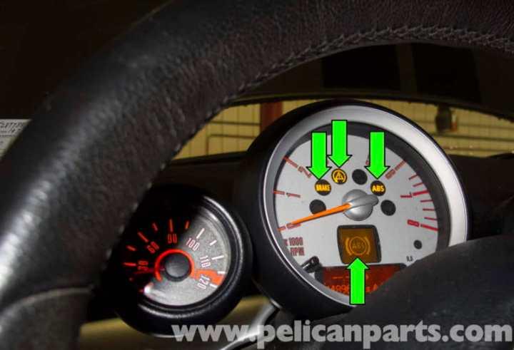 Mini Cooper Warning Lights Yellow Engine