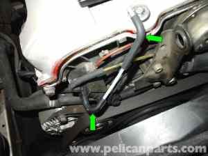 MercedesBenz W210 Fixing Common Vacuum Leaks (199603) E320, E420   Pelican Parts DIY