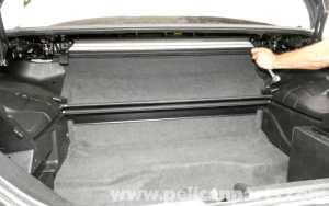 MercedesBenz SLK 230 Trunk Panel Removal | 19982004 | Pelican Parts DIY Maintenance Article