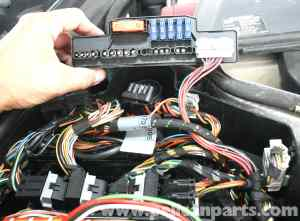 MercedesBenz SLK 230 ABS Control Module Replacement