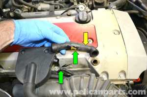 MercedesBenz SLK 230 AirOil Separator Replacement | 19982004 | Pelican Parts DIY Maintenance