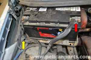 MercedesBenz W123 Battery Connection Notes and