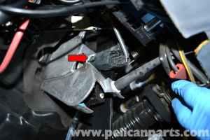MercedesBenz W124 Brake Light Switch Replacement | 1986