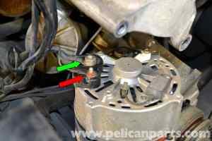 MercedesBenz W126 Alternator Replacement | 19811991 SClass | Pelican Parts DIY Maintenance