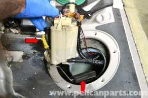 MercedesBenz W203 Fuel Pump Replacement  (20012007