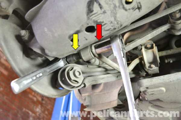 Mercedes-Benz W203 Rear Sway Bar Bushing Replacement ...
