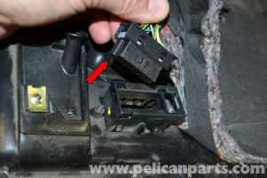 MercedesBenz W203 Lower Driver Side Dash Removal  (2001