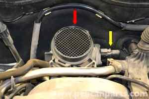 MercedesBenz W203 Crankshaft Positioning Sensor Replacement  (20012007) C230, C280, C350