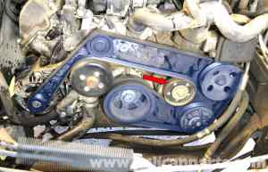 MercedesBenz W203 Belt Tensioner Replacement  (20012007