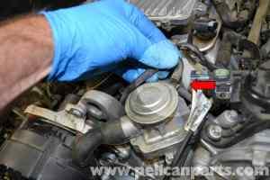 MercedesBenz W204 Air Pump Check Valve Replacement  (20082014) C250, C300, C350 | Pelican