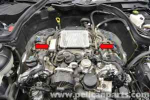 MercedesBenz W204 Fuel Injector Replacement  (20082014) C250, C300, C350 | Pelican Parts DIY