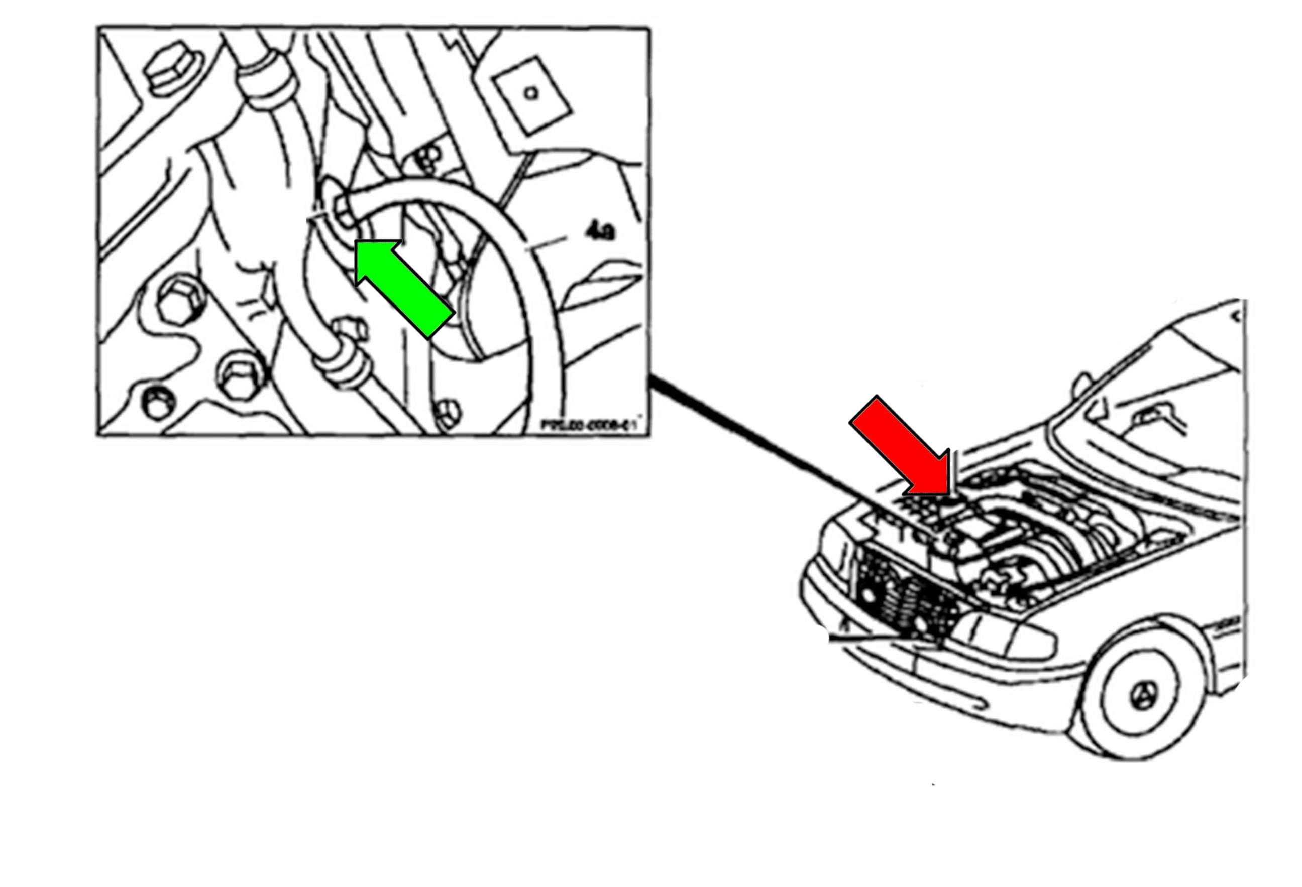 Mercedes Benz W211 Coolant System Draining And Filling