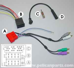 Porsche 911 Carrera Radio Head Unit Installation  996 (19982005)  997 (20052012)  Pelican