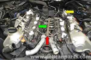 Porsche Cayenne High Pressure Fuel Sensor Replacement (955