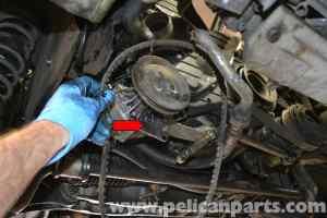 Porsche 944 Turbo Oil Pressure Sensor Replacement (1986