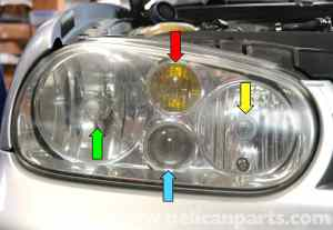Volkswagen Golf GTI Mk IV Headlight Bulb and Assembly Replacement (19992005)  Pelican Parts