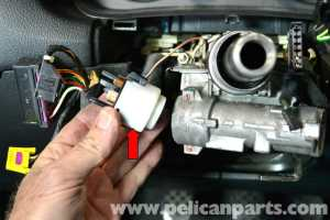 Volkswagen Golf GTI Mk IV Ignition Switch and Lock Cylinder Replacement (19992005)  Pelican