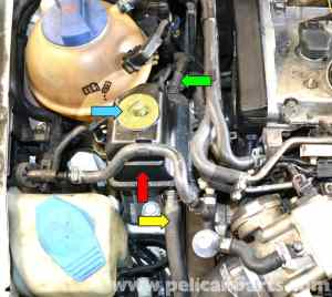 Volkswagen Golf GTI Mk IV Power Steering Pump and Reservoir Replacement (19992005)  Pelican