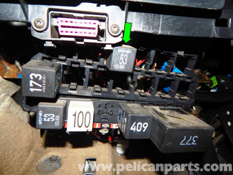 Jetta Location Relay Fuel Pump 2001