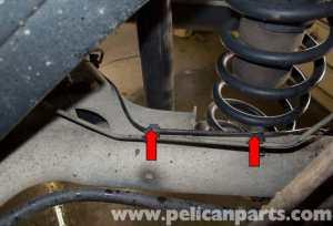 Volvo V70 ABS Wheel Speed Sensor Replacement (19982007)  Pelican Parts DIY Maintenance Article
