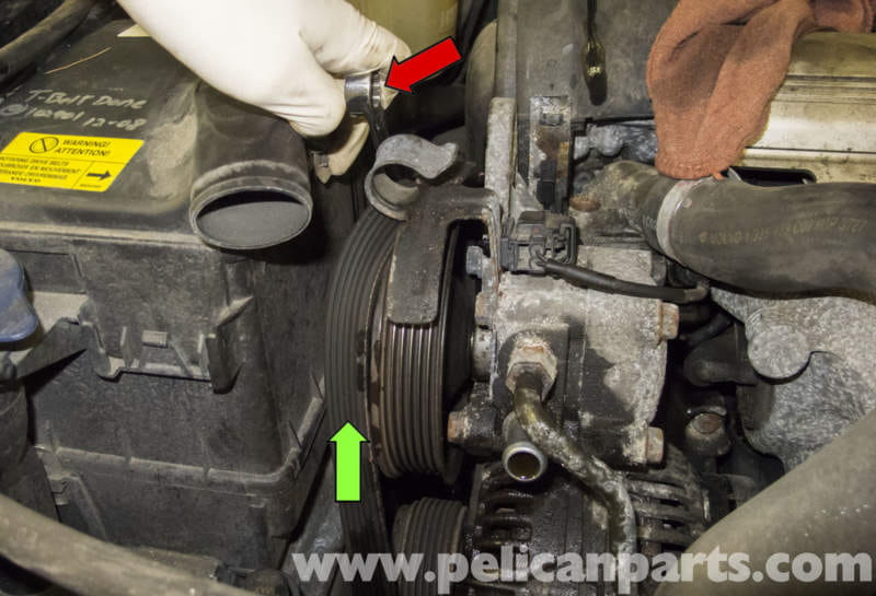 Volvo V70 Power Steering Pump Replacement 1998 2007