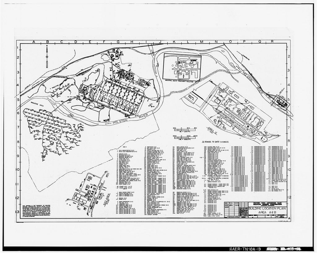 Holston Army Ammunition Plant Producer Gas Plant