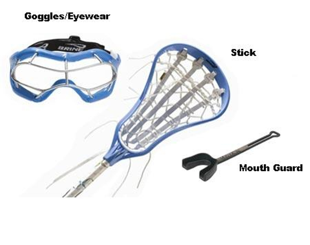 Required Lacrosse Equipment For Girls