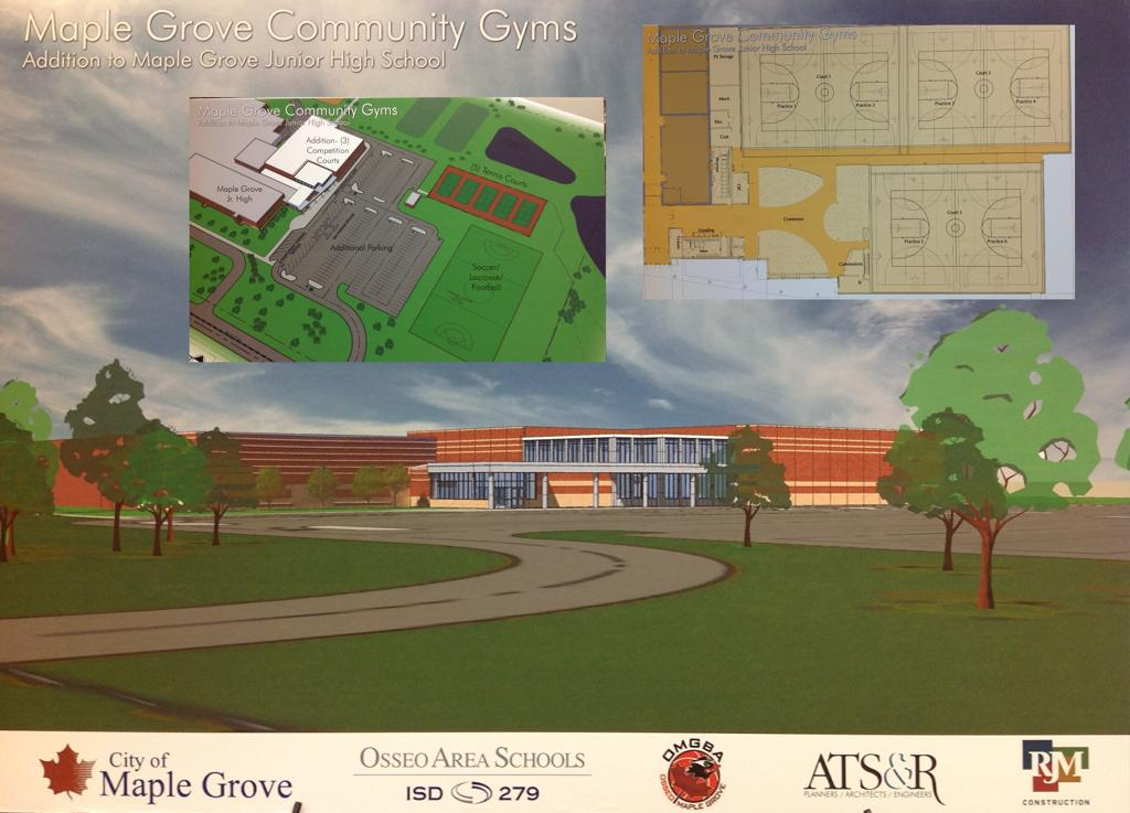 Maple Grove Community Gymnasium   MGCG