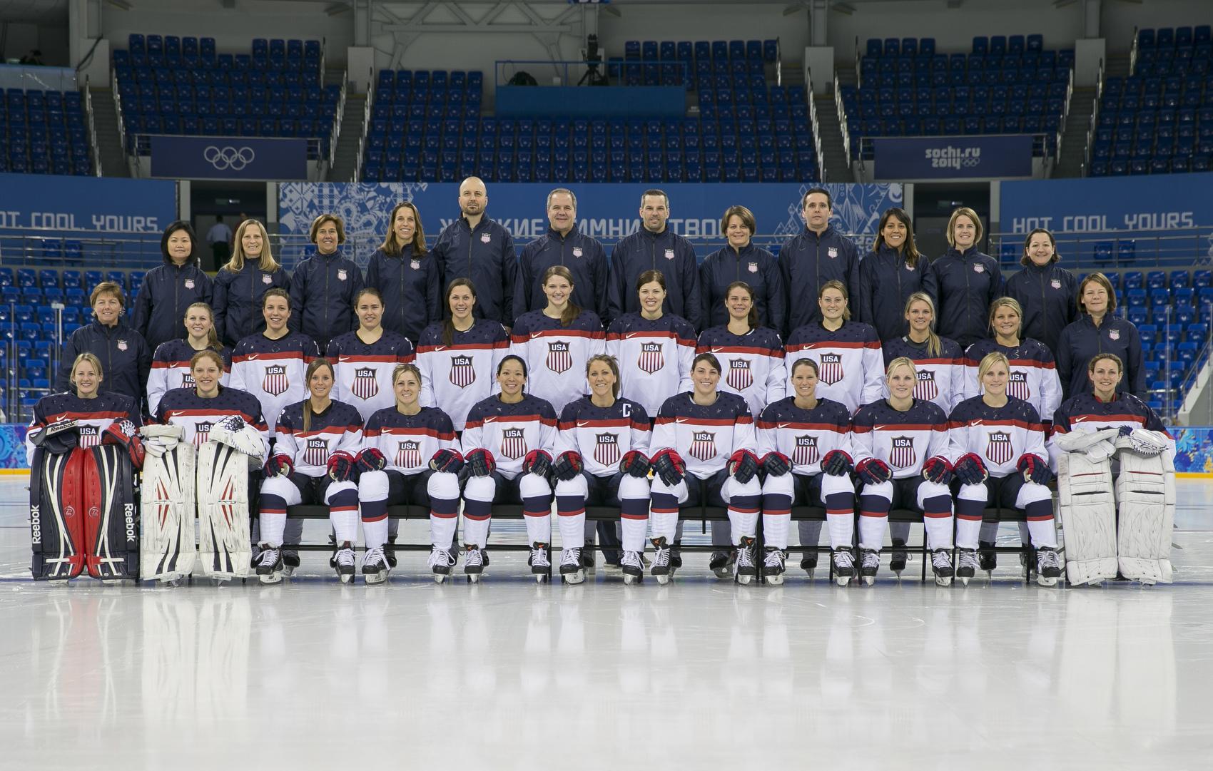 Usa Vs Canada Olympic Hockey Women S And Men S Teams
