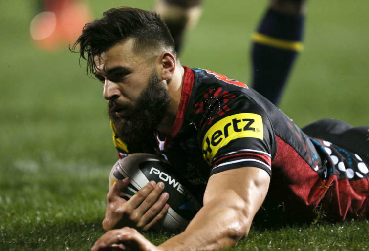 Penrith Panther's Josh Mansour