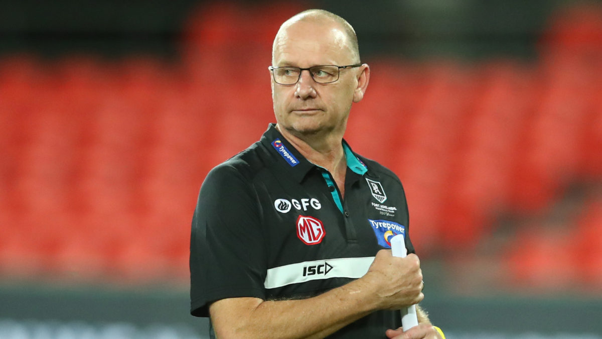 Photo of Four burning questions for Port Adelaide before the AFL restart