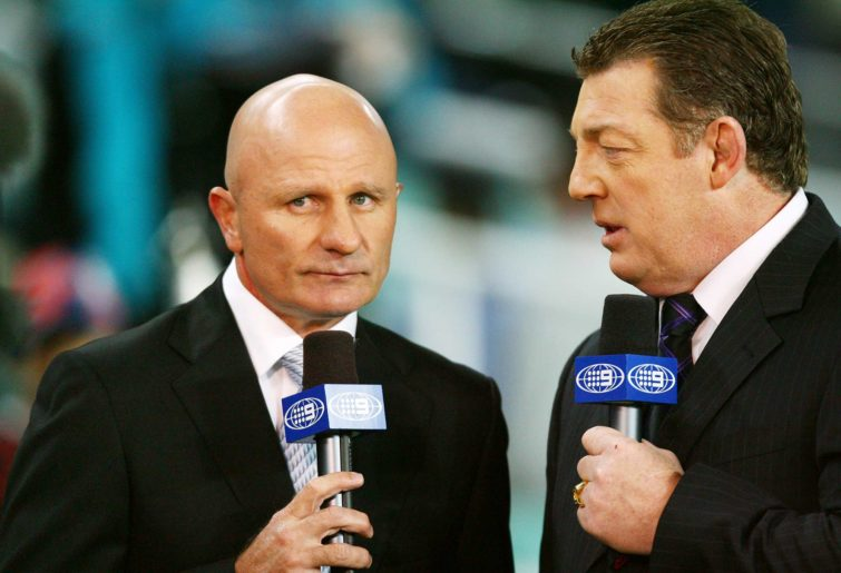 Peter Sterling and Phil Gould