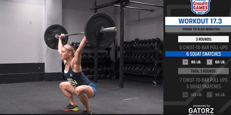 crossfit open 17.3 tips