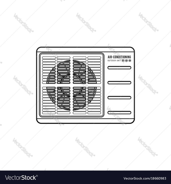 Air Conditioner Outdoor Unit Diagram