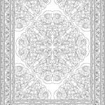 Oriental Floral Carpet