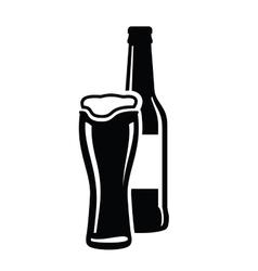 Download Beer bottles Royalty Free Vector Image - VectorStock