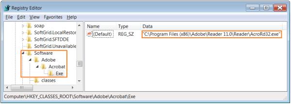 Adobe Acrobat Reader - Программное обеспечение - Adobe - Acrobat - Exe - WindowsWally