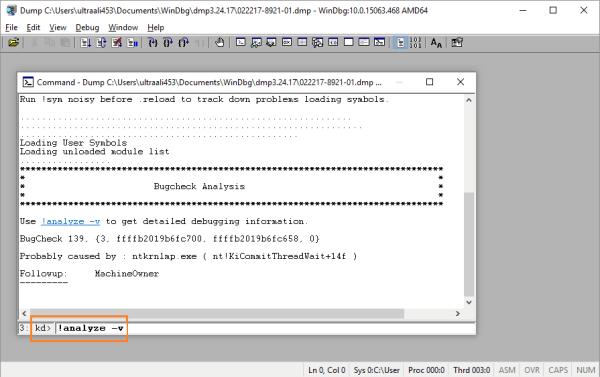 Файлы дампа - WinDbg - 4 - 2 - Windows Wally
