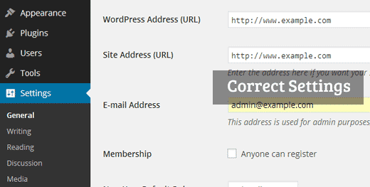 Benar Pengaturan URL WordPress