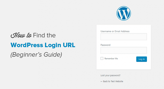 Cara menemukan URL Halaman Login WordPress