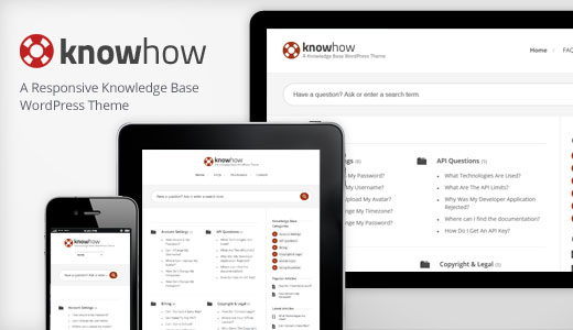 KnowHow - WordPress Knowledge Base Theme
