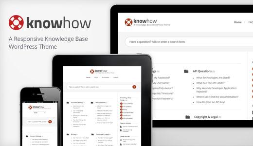 KnowHow - WordPress Knowledge Base Theme