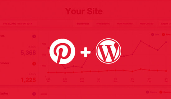 Verify Pinterest Site on WordPress