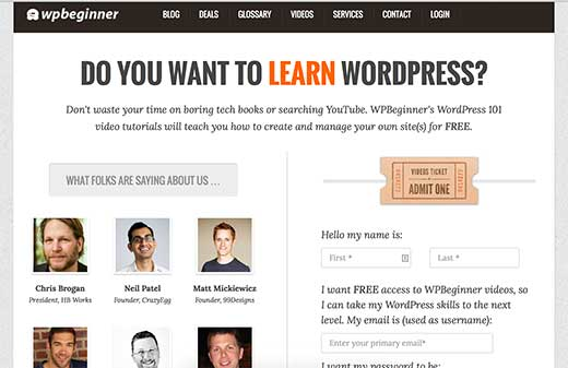 WPBeginner Videos - Free WordPress tutorials for beginners